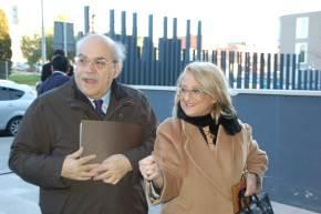 Andreu Mas-Colell i la Dra María Teresa Costa